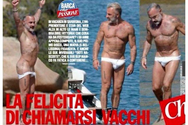 """Gianluca Vacchi hot, l'imprenditore abbassa lo slip e scopre le """"doti nascoste"""""""