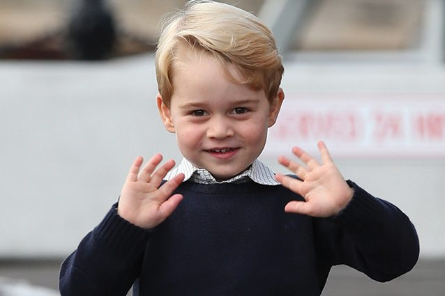 Principino George: primo giorno di scuola accompagnato da papà William