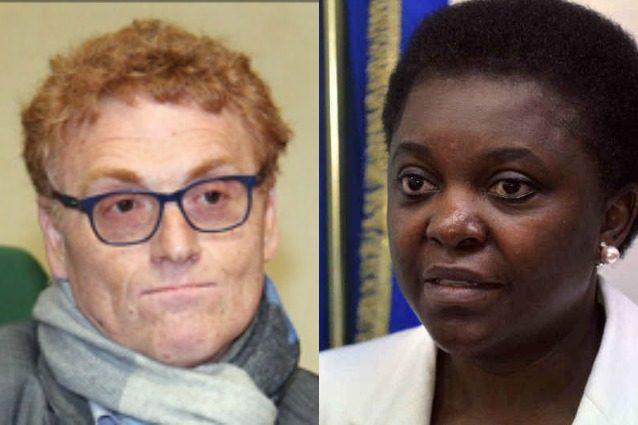 Fabrizio Bracconeri bloccato su Twitter per le offese razziste all'ex ministra Kyenge