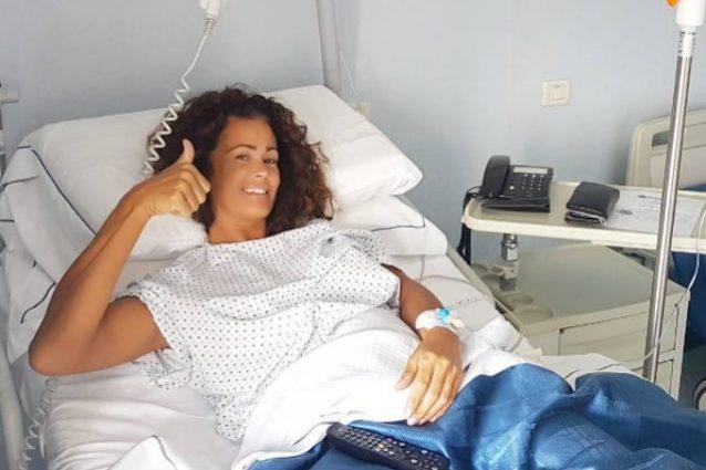 """Samantha De Grenet operata al menisco: """"Fortunata ad avere amici e famiglia che mi amano"""""""