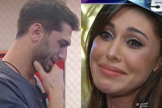 """Belén incontra Jeremias: """"Prego ogni giorno che tu non faccia casino"""" poi si abbracciano in lacrime"""