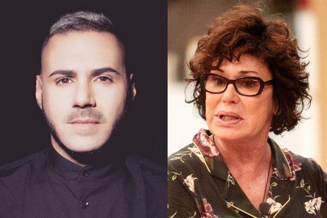 """Edoardo Ercole, figlio della Grandi: """"Corinne Clery mi ha insultato perché sono gay"""""""