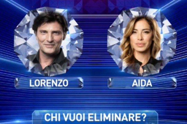 Lorenzo Flaherty e Aida Yespica sono i nominati della quinta puntata del 'GF Vip'