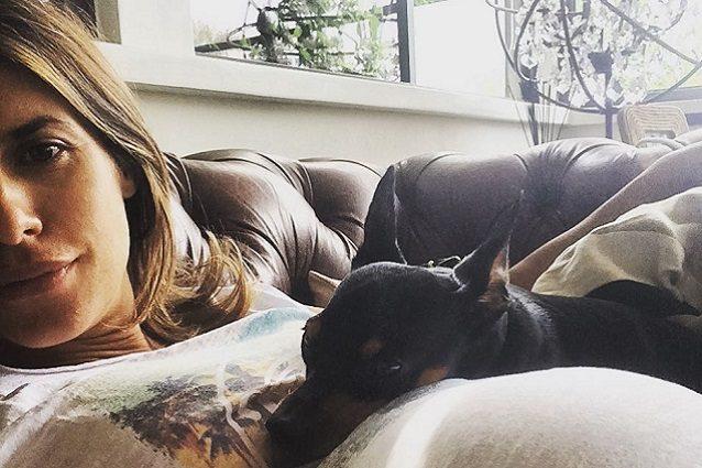 Elisabetta Canalis, addio al cane Piero:
