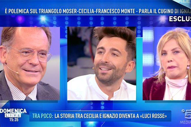 GF VIP, Cecilia e Ignazio: arriva la lettera di Francesco Monte