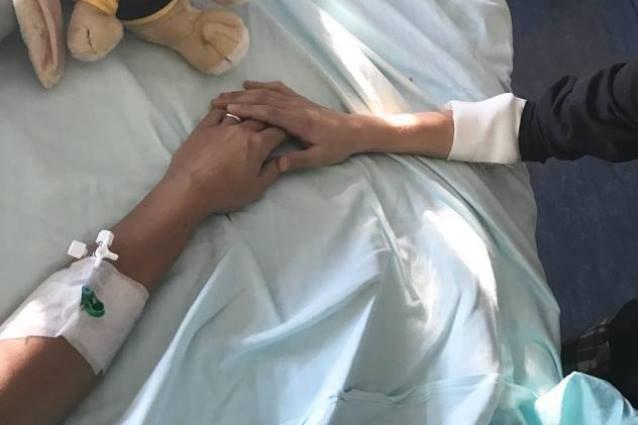 Francesca Barra in ospedale: