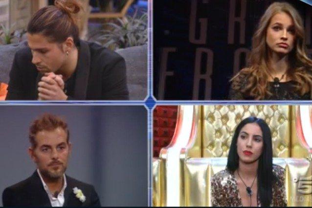 Daniele Bossari e Giulia De Lellis al televoto