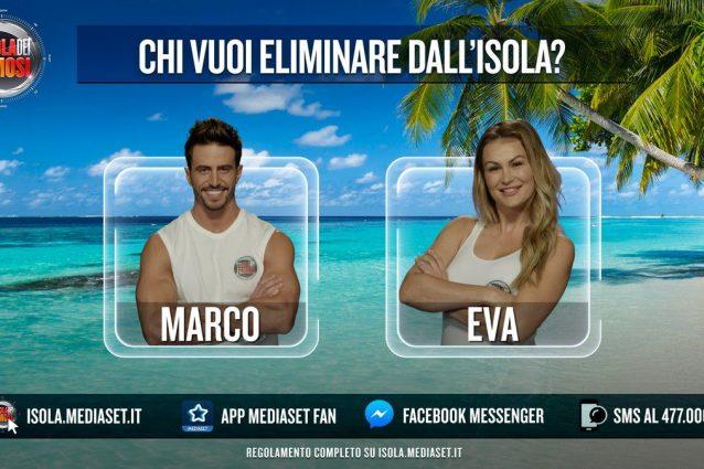 Marco Ferri e Eva Henger sono i nominati della prima puntata, si chiude all'1.30
