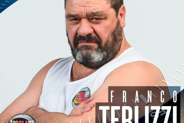 Franco Terlizzi concorrente dell'Isola dei Famosi 2018, battuta Deianira la Terribile