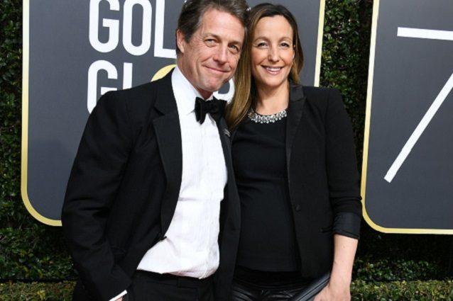 Hugh Grant diventa papà per la quinta volta in 7 anni, la compagna Anna Eberstein è incinta