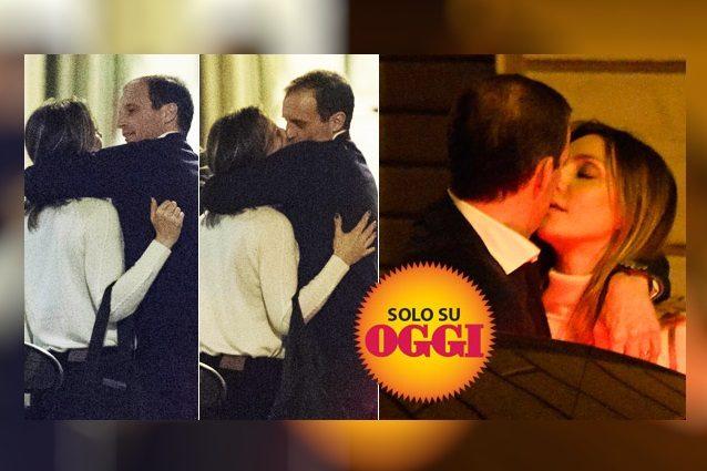 L'amore tra Ambra e Allegri è sempre più solido, l'allenatore a Cerveteri dalla famiglia Angiolini