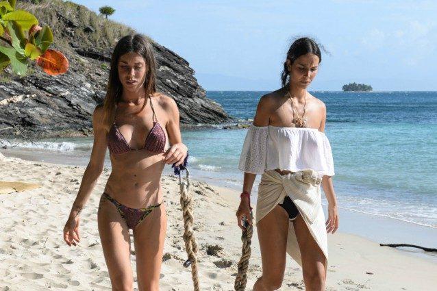 Panico a L'Isola dei Famosi: Bianca Atzei si sente male