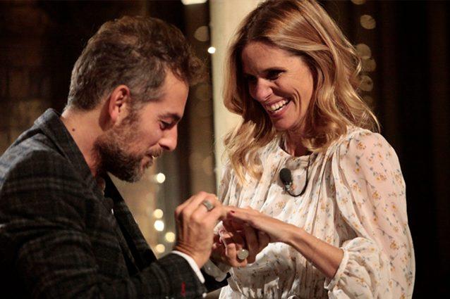 Daniele Bossari e Filippa Lagerback spostano la data del matrimonio