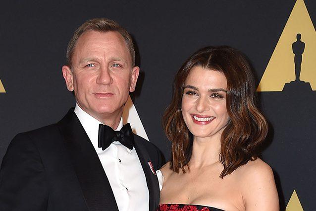 Daniel Craig e Rachel Weisz aspettano un bambino: