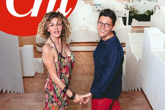 Fiori d'arancio per Eva Grimaldi e Imma Battaglia