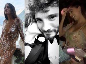 Stefano De Martino al matrimonio con Gilda Ambrosio, ma i balli sono con Belén Rodriguez