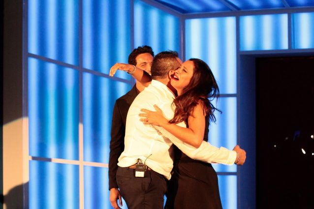 Aida Nizar contro i concorrenti del GF dopo la finale