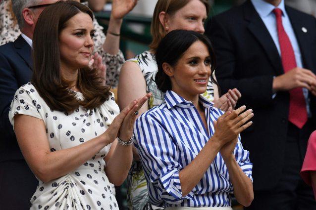 Wimbledon: Kate e Meghan alla finale delle donne LE FOTO
