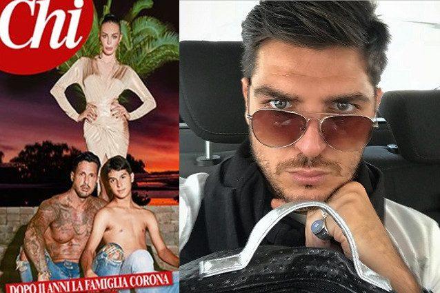 Gossip: Fabrizio Corona 'avvinghiato' in piscina alla modella Zoe Cristofoli