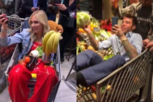 Fedez, festa al supermercato: social indignati contro lo spreco di cibo