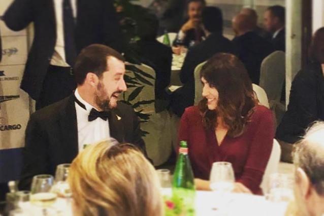 Ticinonline - Salvini e Isoardi a cena insieme