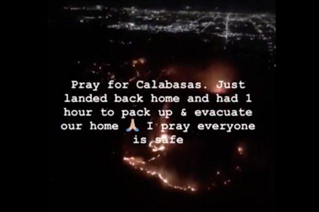 Lady Gaga Costretta ad Evacuare - I Fuochi della California Continuano Implacabili