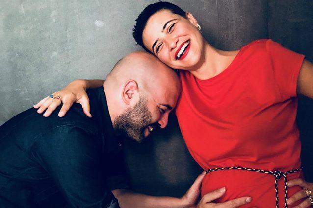 Giuliano Sangiorgi è diventato papà: la prima foto di Stella
