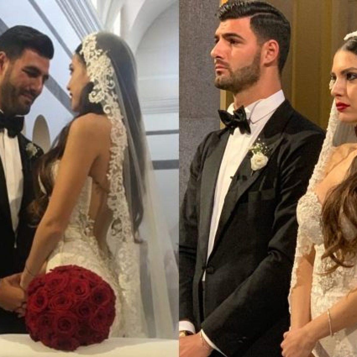 Clarissa Marchese e Federico Gregucci si sono sposati: il fiabesco
