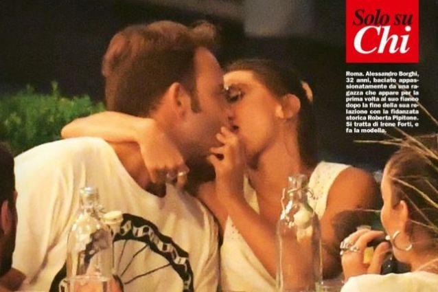 Alessandro Borghi bacia la modella Irene Forti, finito da 5 mesi il ...