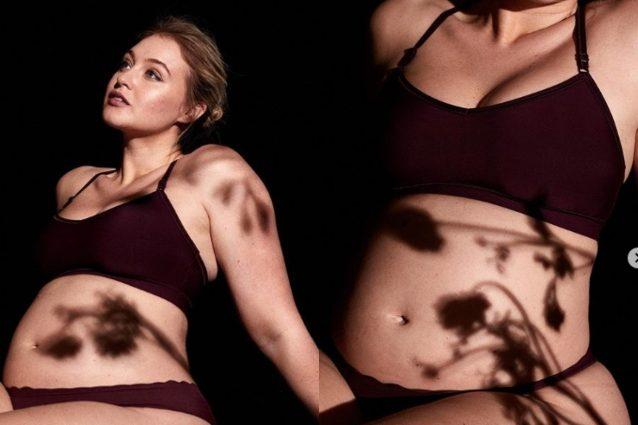 """Iskra Lawrence incinta: """"Mio figlio sarà no gender"""", la mode"""