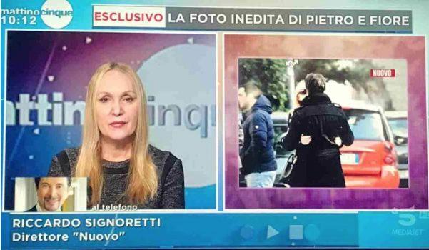 Spunta la foto del presunto bacio tra Fiore Argento e Pietro