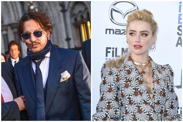 "Johnny Deep e le frasi choc sull'ex moglie Amber Heard: ""Sco"