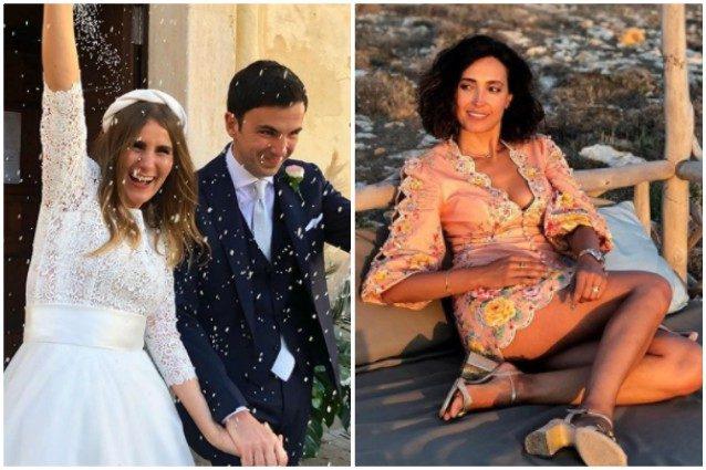Il matrimonio di Sarah, sorella di Caterina Balivo: le foto e i ...