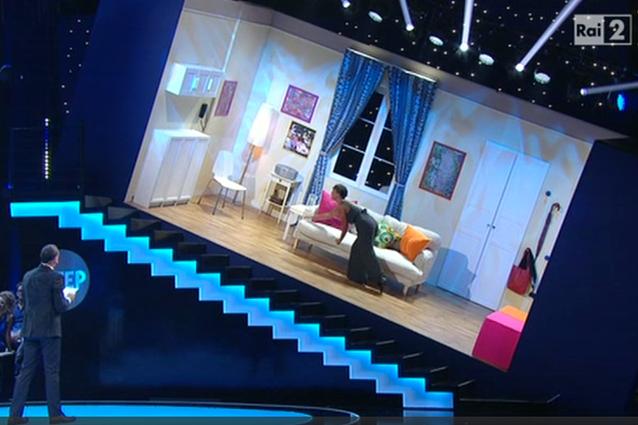 La stanza inclinata di amadeus tutto possibile al suo for Programma per progettare stanze