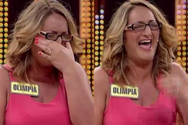 """C'è posta per te, in platea la risata acuta di una donna: """"È Olimpia di Avanti un altro?"""""""