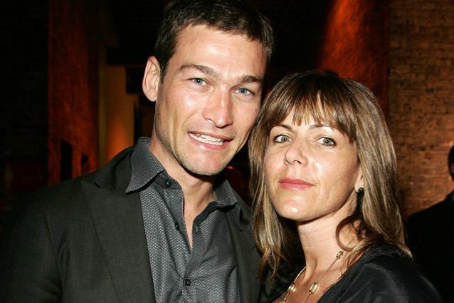 AndyWhitfield e la moglie Vashti nel 2008