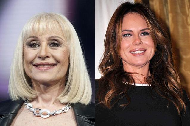 """Raffaella Carra verso """"Domenica In"""", Paola Perego a """"Mattino Cinque"""""""