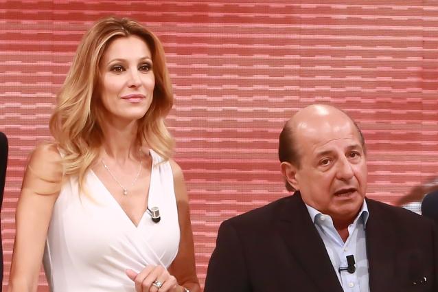 """Giancarlo Magalli: """"Con Adriana Volpe non vado d'accordo, la sopporto per lavoro"""""""