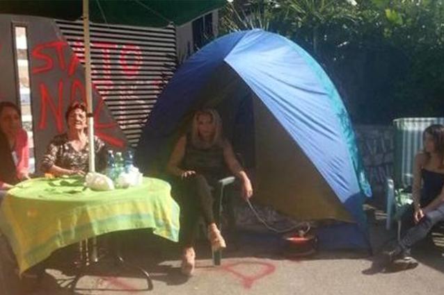 """Rita Bonaccorso sfrattata: """"Vivo in mezzo alla strada"""""""