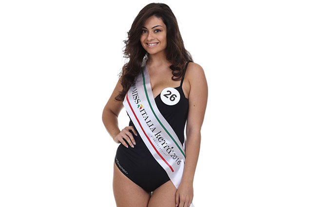La seconda classificata di Miss Italia 2016 è la curvy Paola Torrente