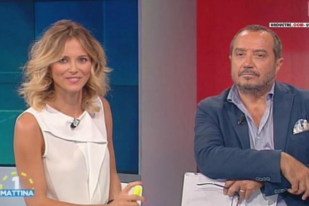 Uno Mattina festeggia 30 anni e torna con Franco Di Mare e Francesca Fialdini
