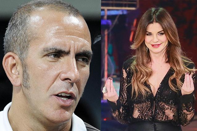 """Alba Parietti contro Di Canio: """"Come minimo è un cretino, ha fatto apologia del fascismo"""""""