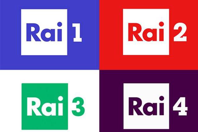 """La Rai cambia logo e colori: """"Look moderno e minimalista"""""""