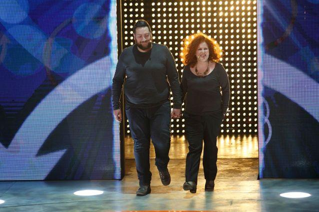 """Valeria e Cristian pesano 221 kg in due. Ventura: """"La coppia che sussurrava ai taralli"""""""