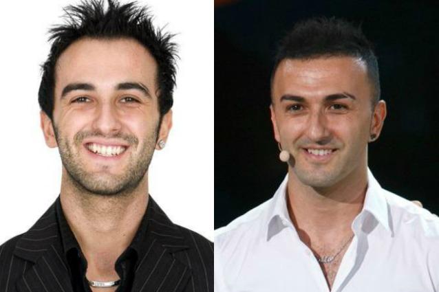 A sinistra Fabio Orlando nel 2008, a destra Fabio Orlando oggi
