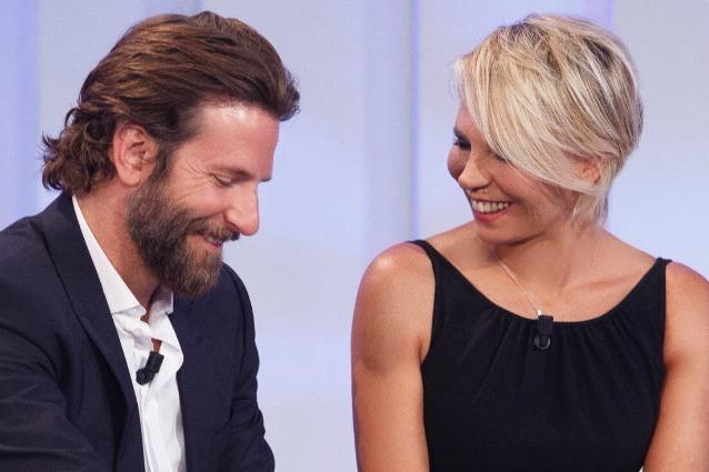 Bradley Cooper e Maria De Filippi