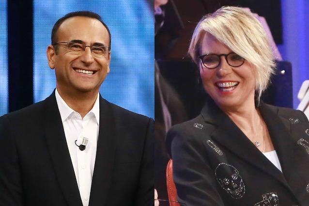 """Maria De Filippi conferma la conduzione a Sanremo 2017: """"Carlo, accetto il tuo invito"""""""