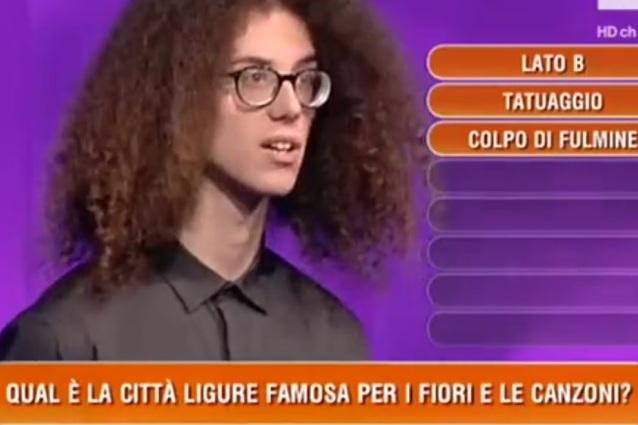"""""""La città ligure famosa per fiori e canzoni è Genova"""": la gaffe memorabile a L'Eredità"""