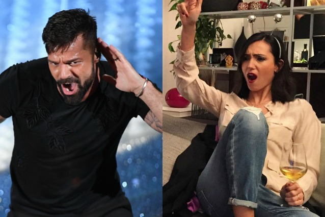 """Caterina Balivo e la battuta infelice su Ricky Martin: """"Sei bono anche se sei fro*io"""""""