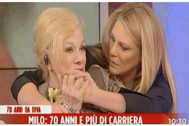 """Sandra Milo in lacrime per l'imitazione di Virginia Raffaele: """"Basta frasi sessiste"""""""